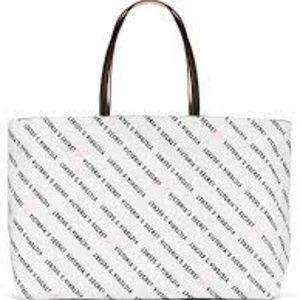 Victoria's Secret White tote bag NEW NWT